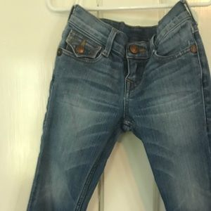True Religion Jeans Boys Girls 4 Slim Leg